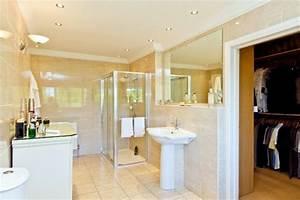 chambre avec dressing et salle de bain en 55 idees With idees amenagement salle de bain
