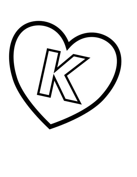 Abc Kleurplaat by File Valentines Day Hearts K Alphabet At Coloring Pages