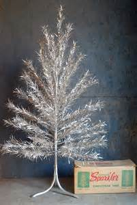 vintage aluminum christmas tree old time christmas trees pinterest