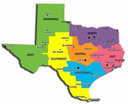 Regional Map Representatives Texas West Panhandle Paso