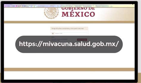 La vacuna será totalmente gratuita para todos los adultos de 60 años o más, aquí te decimos cómo puedes registrarte. Https //Mivacuna.sAlud.gOb : Xrmmilaorv5qqm : Conoce las vacunas y cuándo aplicarlas. - Monica ...