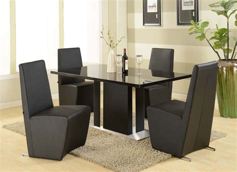 modern black dining table and chairs buying modern dining sets tips and advices traba homes