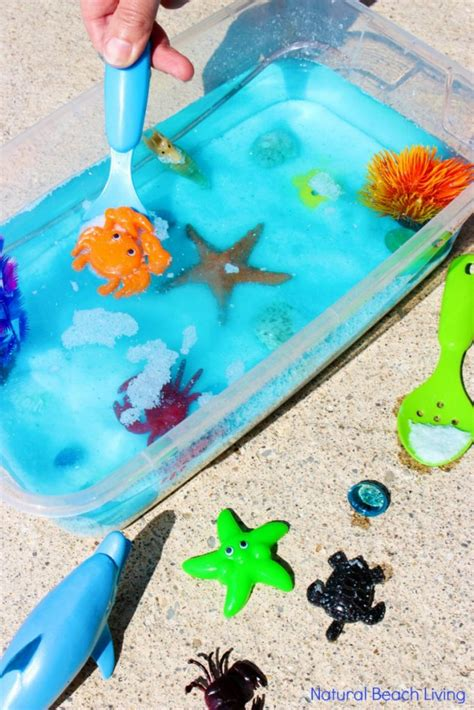 sensory bin easy activities for toddlers and 572 | ocean sensory bin pin4 683x1024