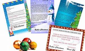 personalised letter from santa groupon goods With groupon santa letter