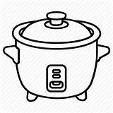 Rice Pot Cooking Drawing Clipart Crockpot Crock Cooker Slow Cauldron Icon Easy Clip Drawings Appliance Getdrawings Paintingvalley Clipground Clipartmag sketch template