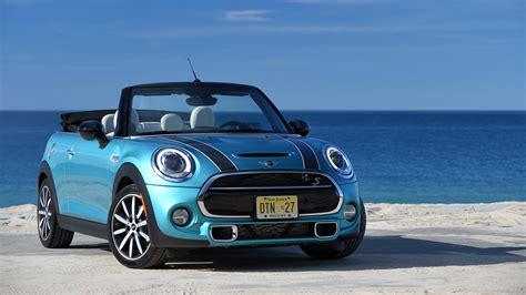 Gambar Mobil Mini Cooper Blue Edition by 2016 Mini Cooper Convertible Wallpaper Hd Car Wallpapers