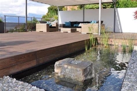 Gartengestaltung Vorgarten Mit Wasser Bilderwasser Im