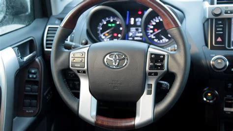 toyota land cruiser prado interior youtube