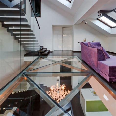 plancher en verre poser un plancher en verre decoration maison