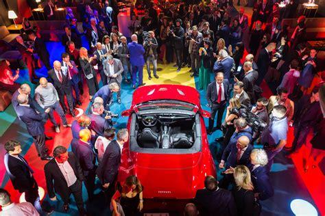 Ferrari Portofino Comes Home To Woo Its Home Crowd