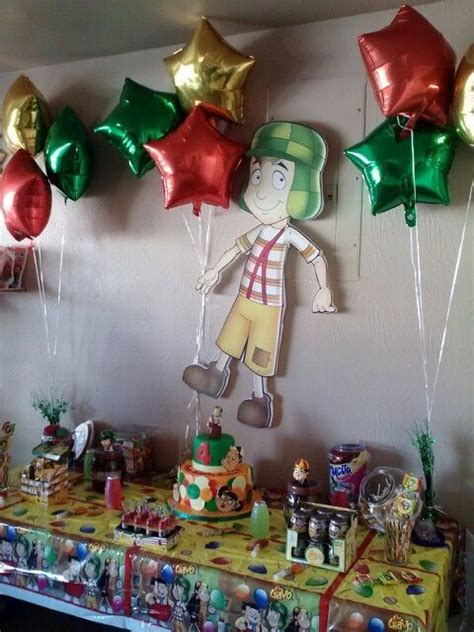 Chavo party theme Twin birthday parties Party themes