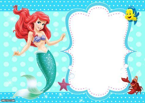 updated  printable ariel   mermaid