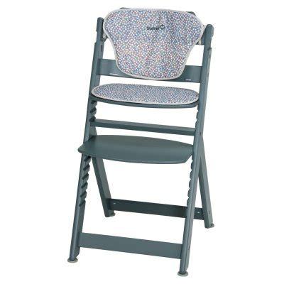 chaise haute la redoute chaise haute bébé et coussin totem 6 mois à la redoute