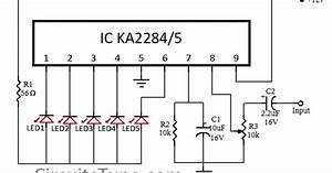 wiring diagram info 5 led vu meter circuit diagram With vu meter 3