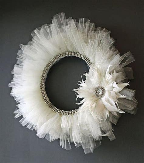 25 best ideas about tulle wreath on pinterest wreath