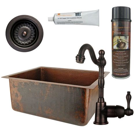 kitchen sink with faucet sinkology the home depot 6045