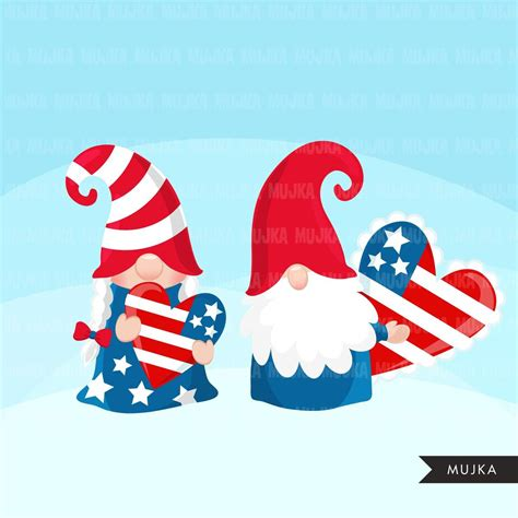 4Th Of July Gnome Svg Free – 427+ SVG File for DIY Machine