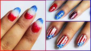 Simple th of july nails galleryhip the