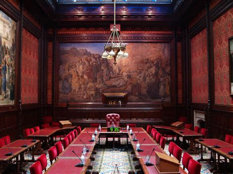 palace  westminster moses room  lighting project