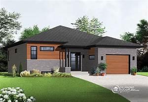 contemporary single storey drummond house plans blog With marvelous modele de maison en l 6 maison neuve