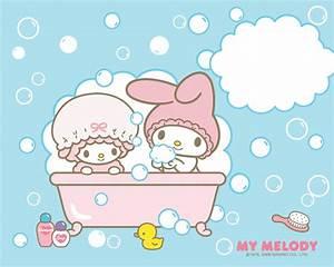 Bathtime Wallpaper - My Melody Wallpaper (2712826) - Fanpop