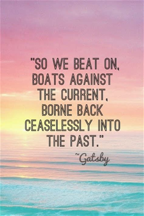 Gatsby Stuck In The Past Quotes