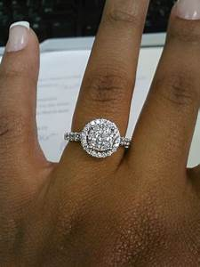 small engagement ring weddingbee With small wedding rings