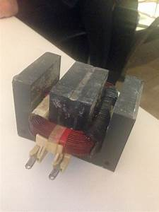 Electromagnetic - Homemade Electromagnet From Microwave Oven Transformer