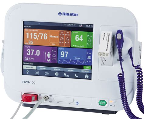 RVS 100 Advanced Vital Signs Monitor - Ecomed
