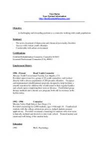 resume format sle for summer job counselor resume nyc sales counselor lewesmr