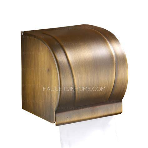 vintage bronze toilet paper holders wall mount