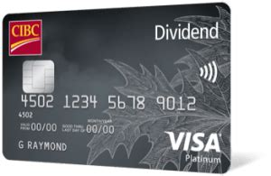 We did not find results for: CIBC Dividend Visa Platinum Credit Card - Pros and Cons