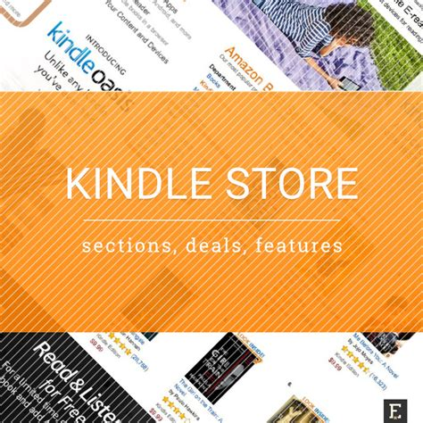 kindle store  guide  deals special sections