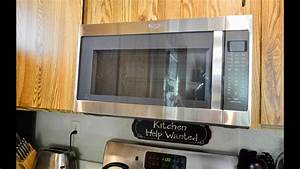 Whirlpool Over The Range Microwave Oven  Model Wmh53520c5