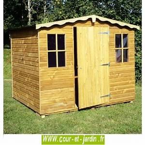 Abri De Jardin 5m2 : abri de jardin europe bois trait 15mm de 5m2 250x200 ~ Edinachiropracticcenter.com Idées de Décoration