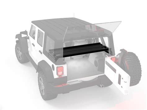 jeep wrangler storage jeep wrangler jku 4 door cargo storage interior rack by