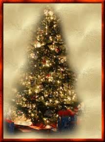 animated christmas card  christmas tree gallery