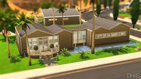 palm springs california sims  houses