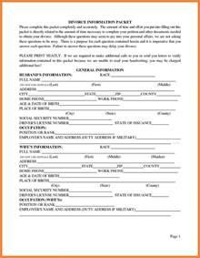 Printable Divorce Papers California
