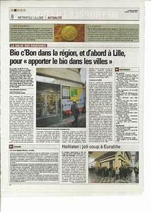 Bio C Bon Valenciennes : arthur loyd valenciennes dans la presse ~ Dailycaller-alerts.com Idées de Décoration