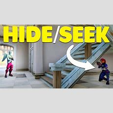 New Hide And Seek In Tilted Towers  Fortnite Custom Game Doovi
