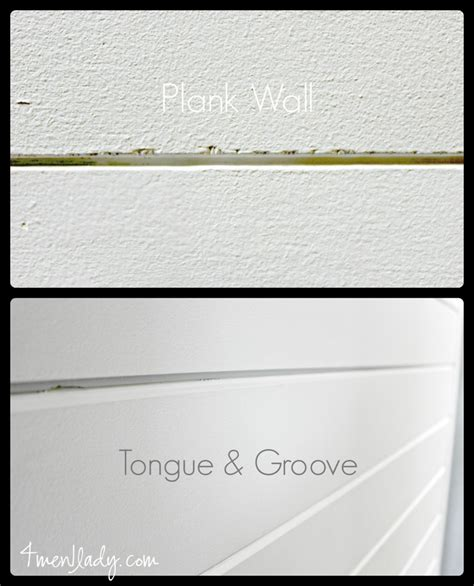 difference between shiplap and tongue and groove plank wall reveal