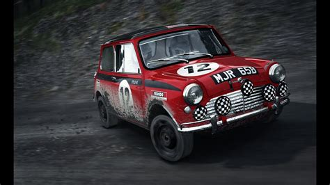 1960's Mini Setup For Dirt Rally