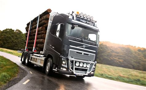 new volvo fh press test drive of the new volvo fh in sweden volvo fh