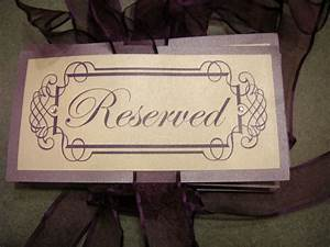 Lots of purple wedding decor for sale products project for Signs you can change letters