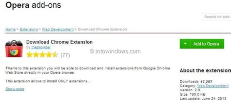 You can also customize keyboard shortcuts and. How To Install Google Chrome Extensions In Opera Browser