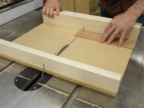 Build A Superprecise Tablesaw Crosscut Sled Finewoodworking