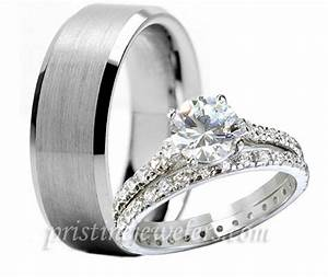 wedding favors band overman man and woman wedding ring With women wedding ring set