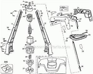 Black And Decker St400 Parts List And Diagram
