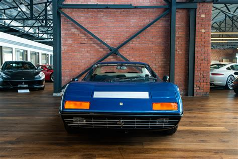 There were two important novelties on this car: 1974 Ferrari 365 GT4 BB Coupe - Richmonds - Classic and Prestige Cars - Storage and Sales ...